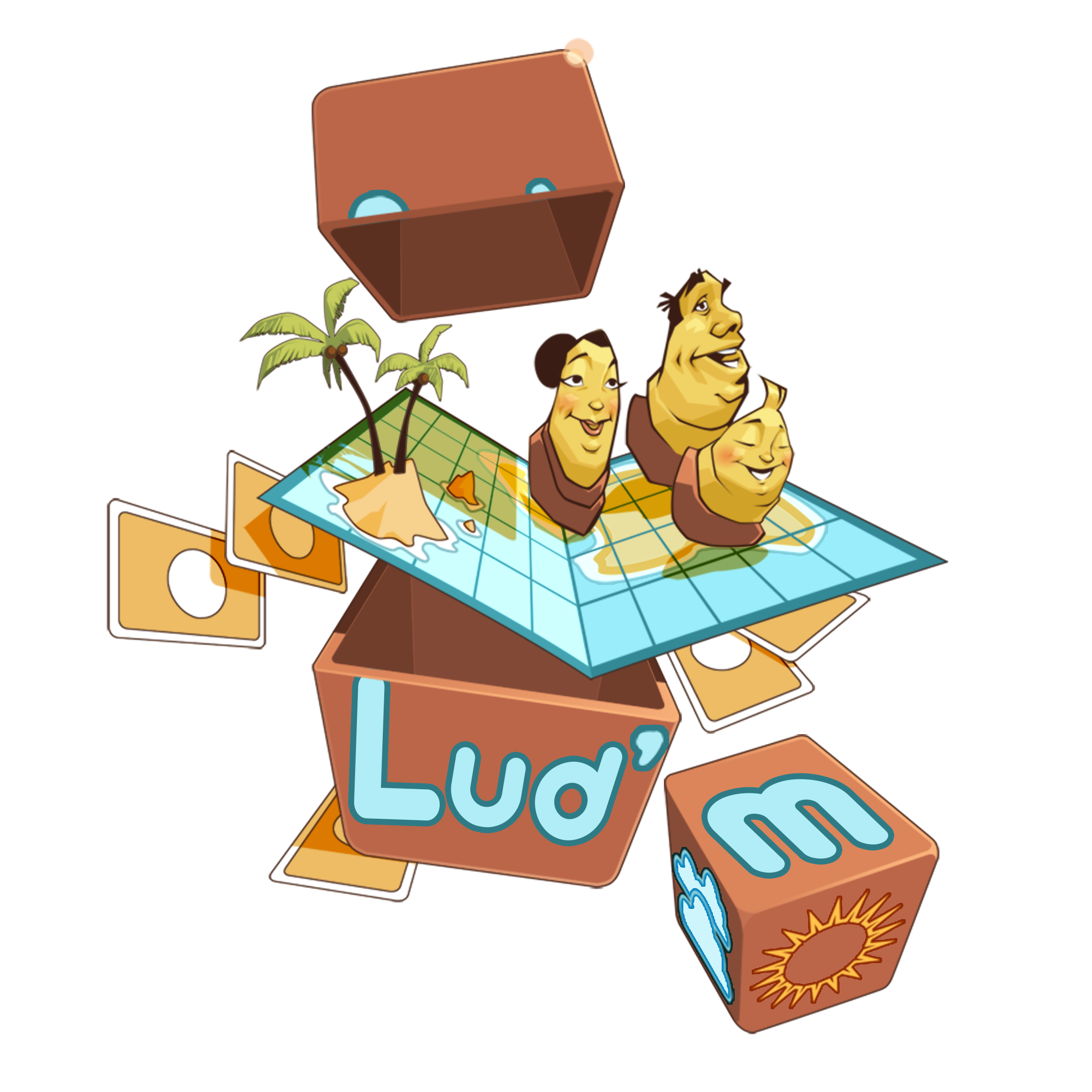 Lud'm - Logo